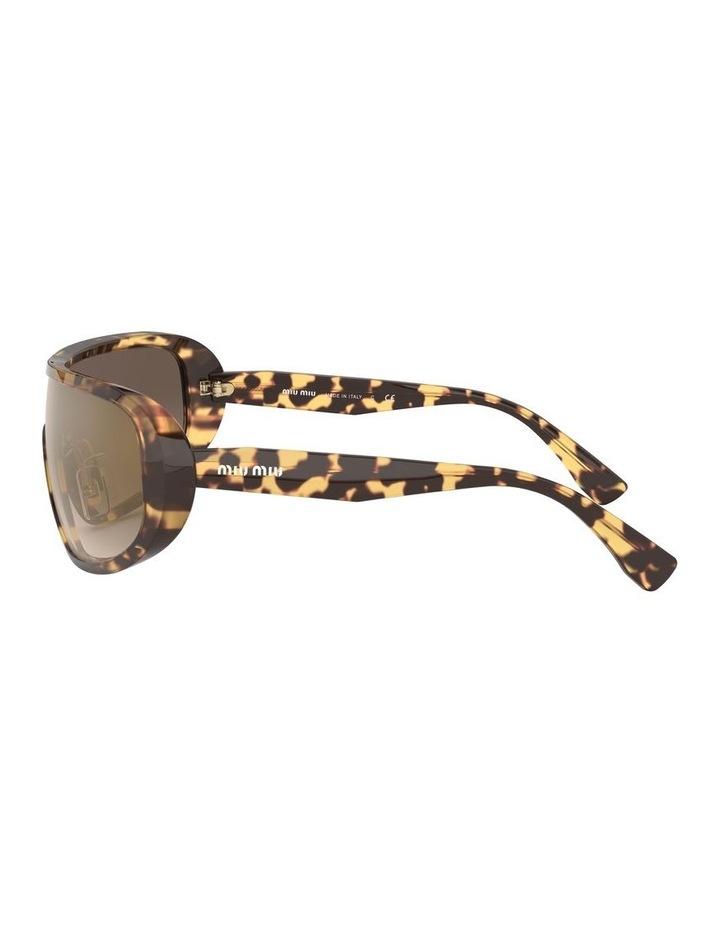 Brown Shield Sunglasses 0MU 06VS 1528378002 image 4