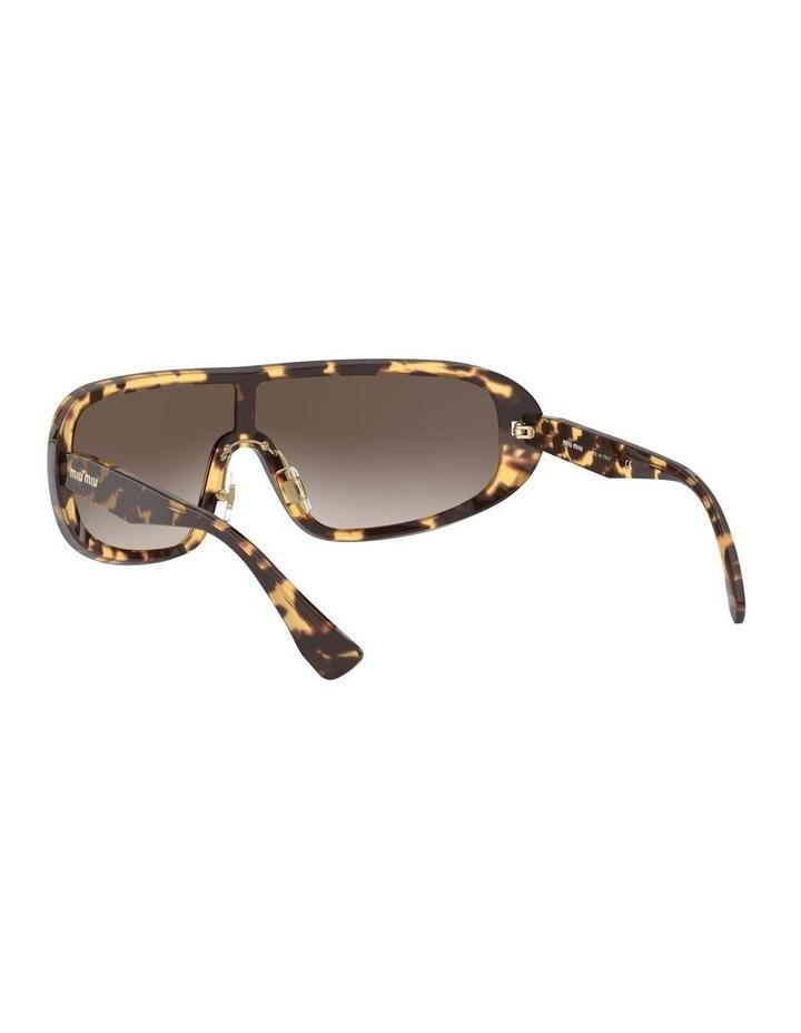 Brown Shield Sunglasses 0MU 06VS 1528378002 image 6