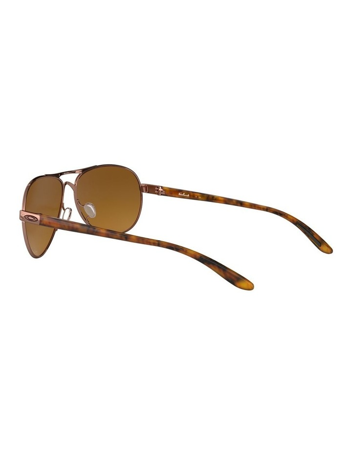 Feedback Polarised Brown Aviator Sunglasses 0OO4079 1138042009 image 5