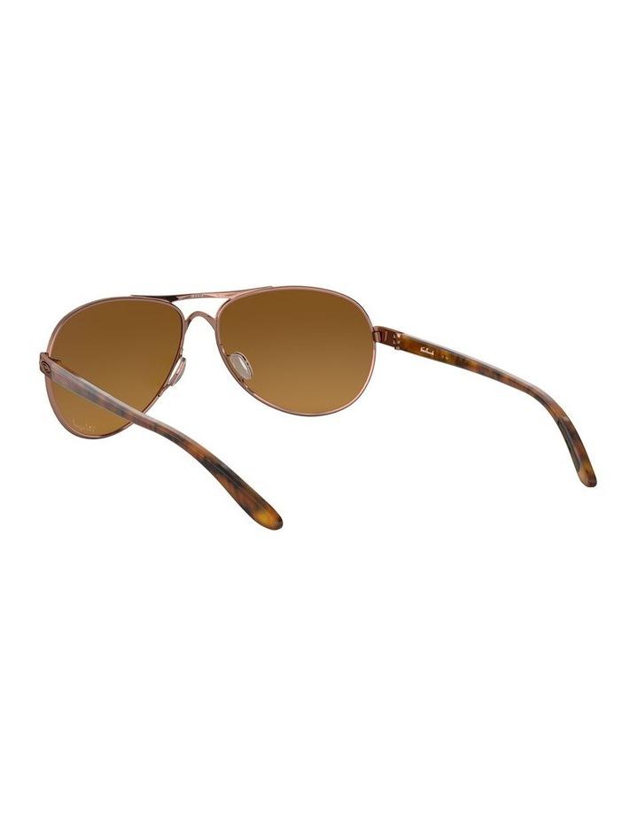 Feedback Polarised Brown Aviator Sunglasses 0OO4079 1138042009 image 6