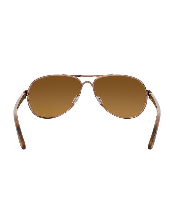 Feedback Polarised Brown Aviator Sunglasses 0OO4079 1138042009 image 7