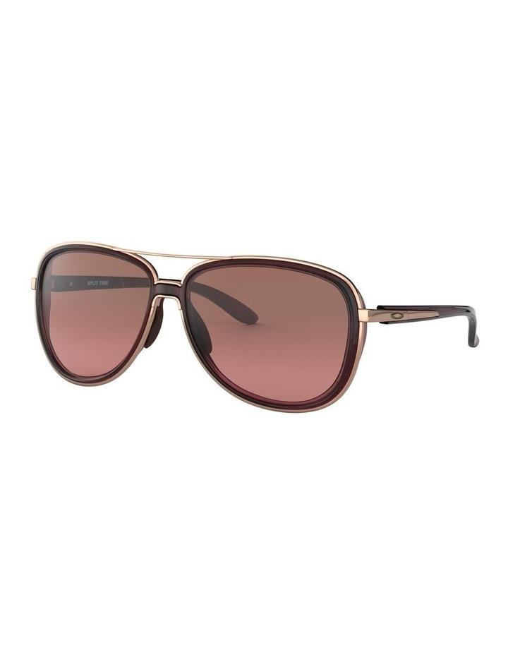 Split Time Black Pilot Sunglasses 0OO4129 1518681002 image 1