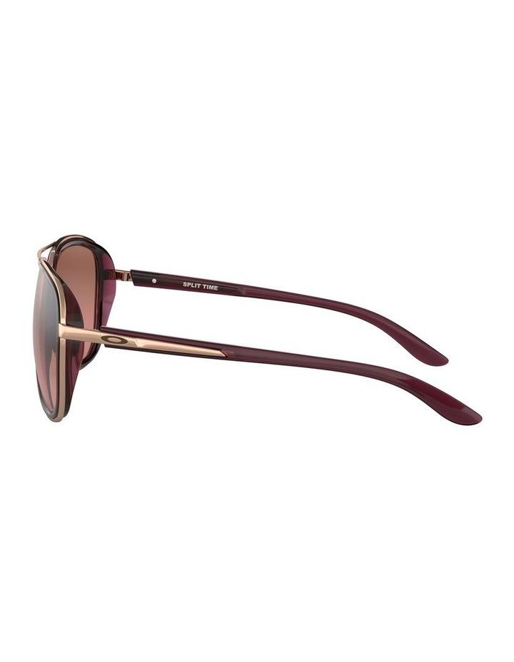 Split Time Black Pilot Sunglasses 0OO4129 1518681002 image 4