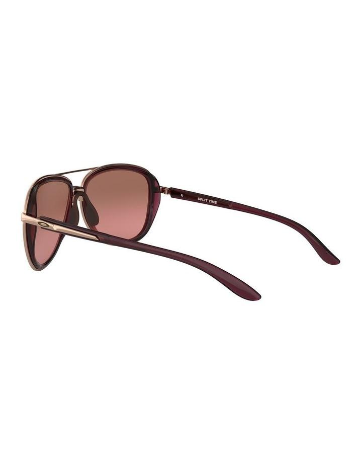 Split Time Black Pilot Sunglasses 0OO4129 1518681002 image 5