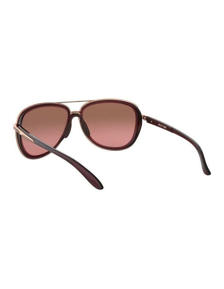 Split Time Black Pilot Sunglasses 0OO4129 1518681002 image 6