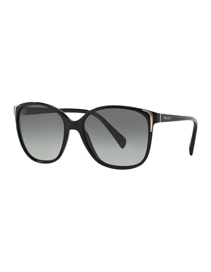 Grey Square Sunglasses 0PR 01OS 1098575003 image 1