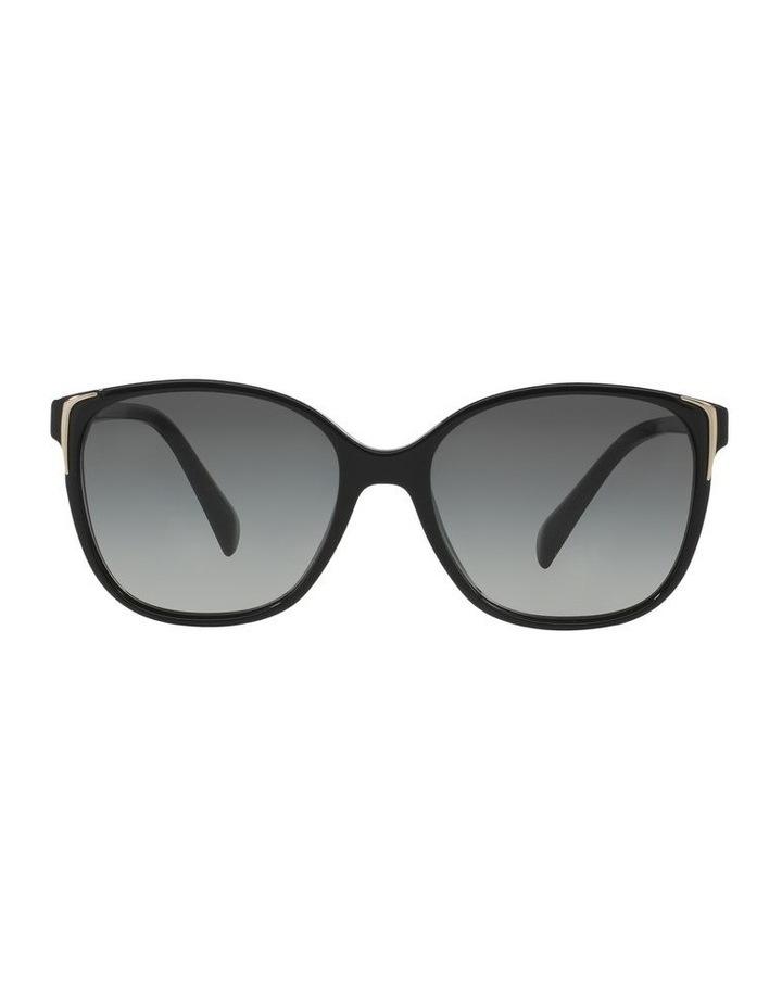 Grey Square Sunglasses 0PR 01OS 1098575003 image 2
