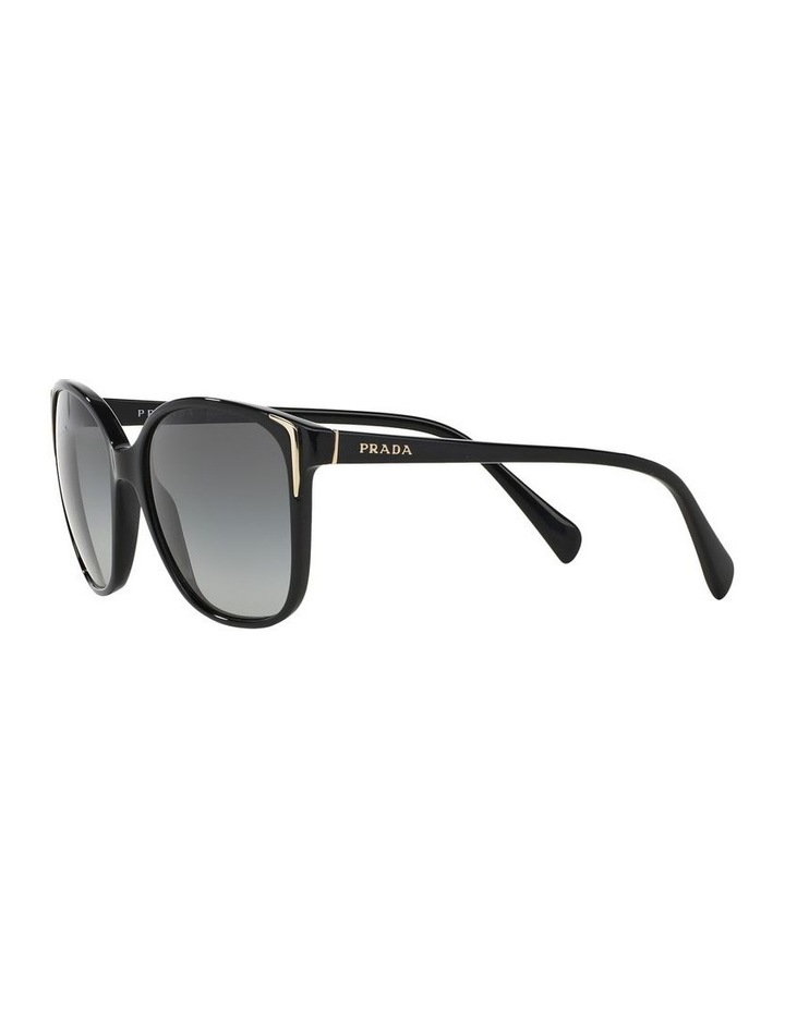 Grey Square Sunglasses 0PR 01OS 1098575003 image 3