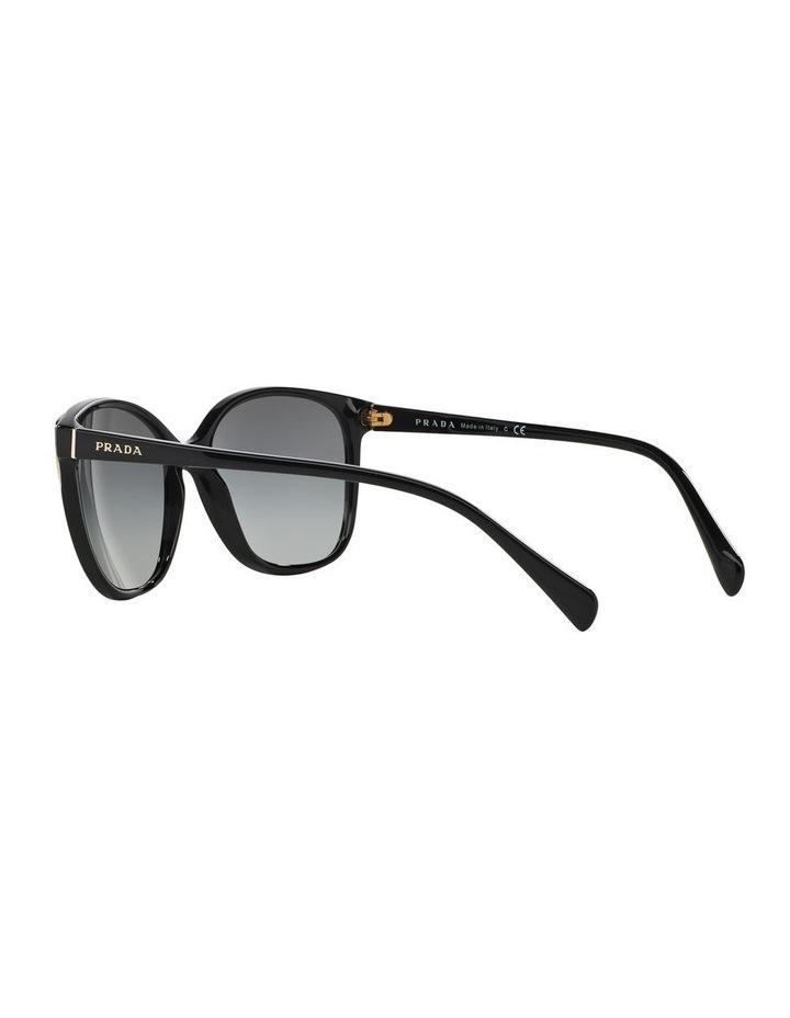 Grey Square Sunglasses 0PR 01OS 1098575003 image 5