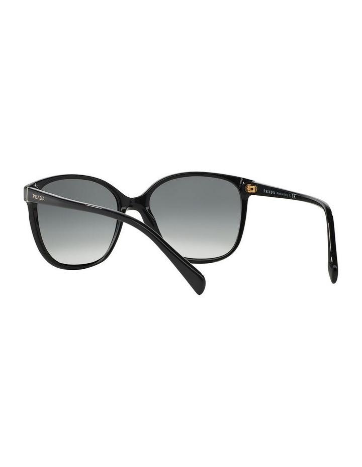 Grey Square Sunglasses 0PR 01OS 1098575003 image 6