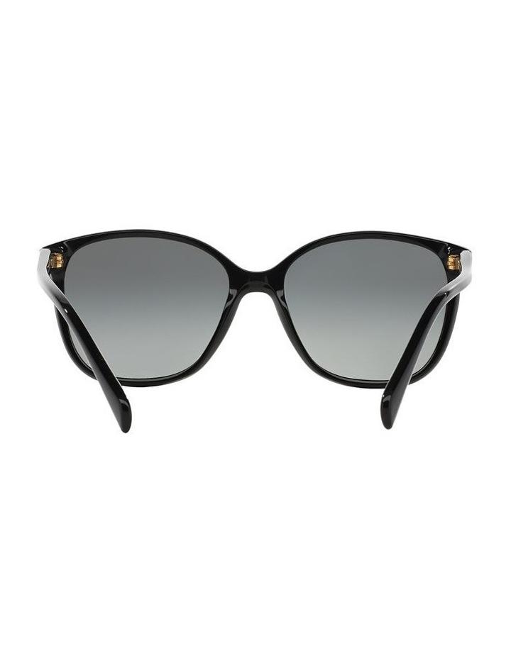 Grey Square Sunglasses 0PR 01OS 1098575003 image 7