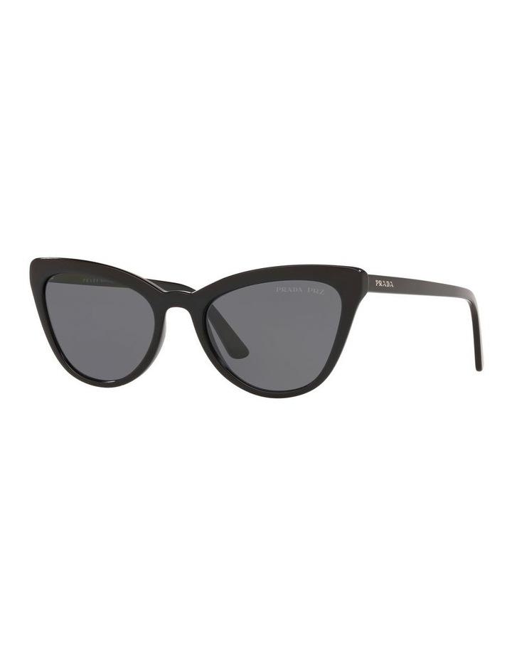 Grey Cat Eye Sunglasses 0PR 01VS 1522074010 image 1