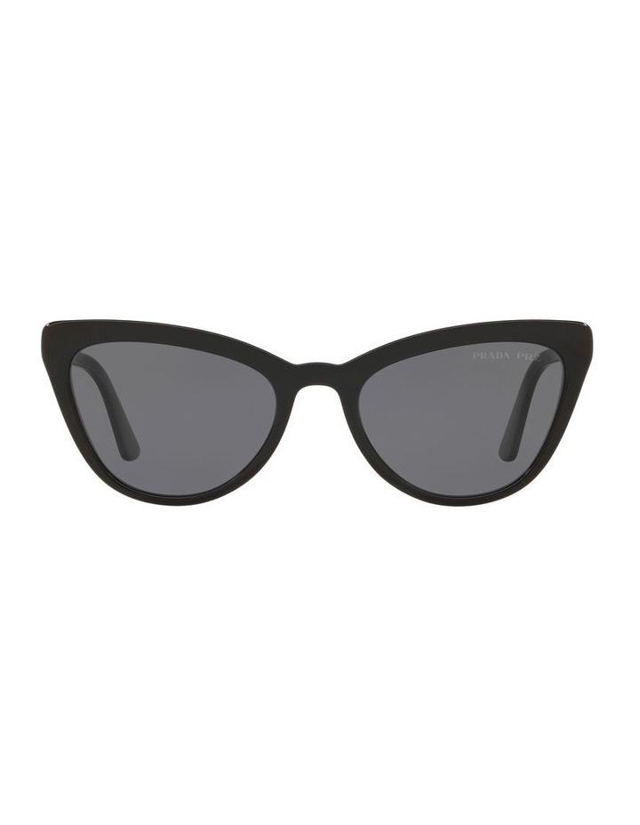 Grey Cat Eye Sunglasses 0PR 01VS 1522074010 image 2