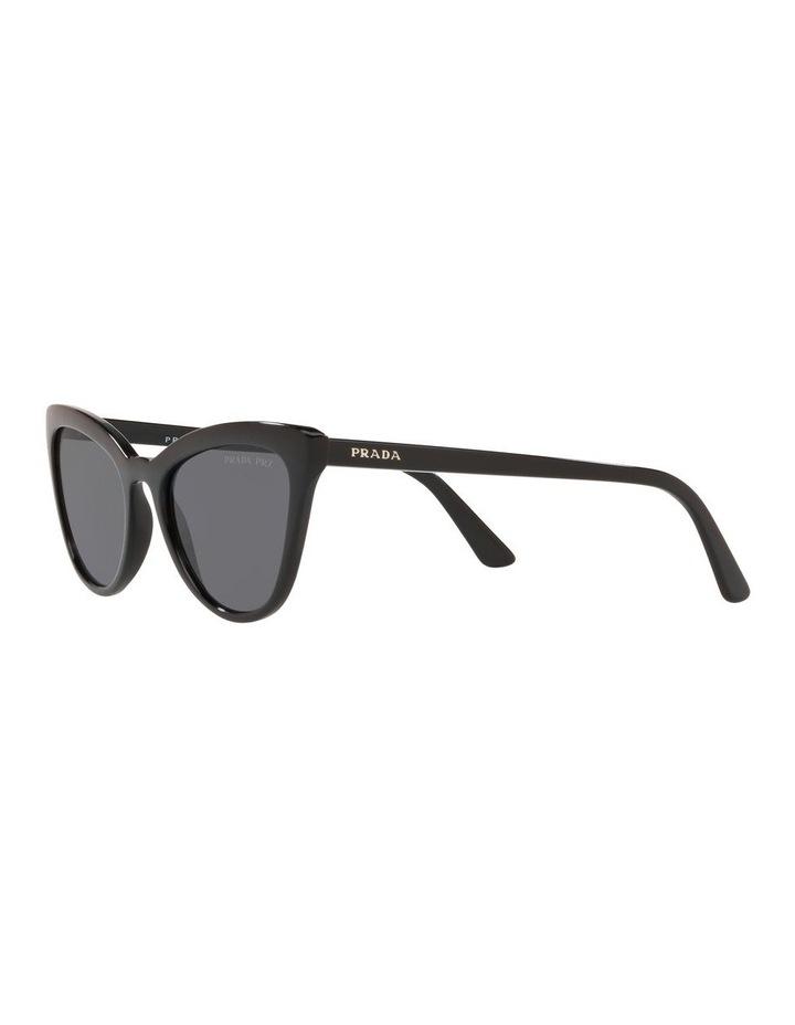 Grey Cat Eye Sunglasses 0PR 01VS 1522074010 image 3