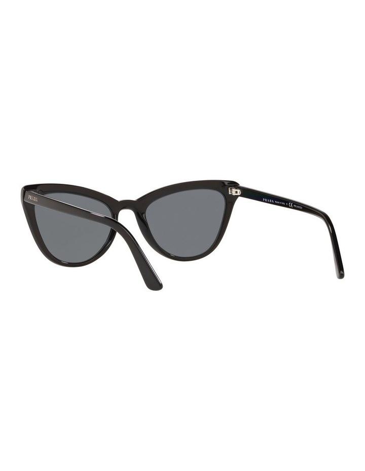 Grey Cat Eye Sunglasses 0PR 01VS 1522074010 image 6