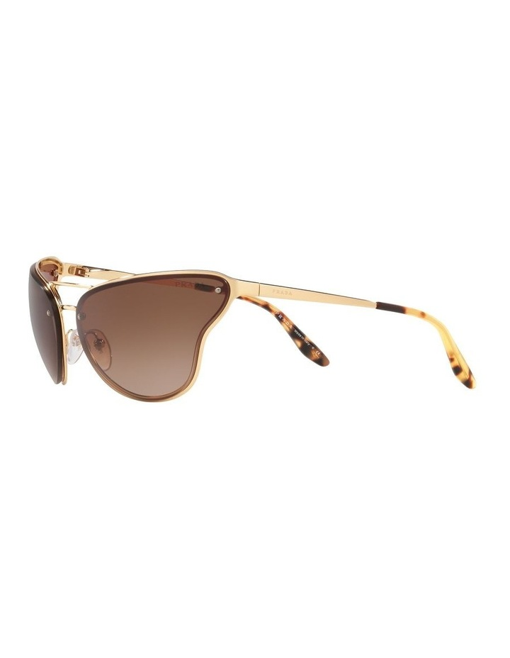 Brown Cat Eye Sunglasses 0PR 74VS 1525200001 image 3