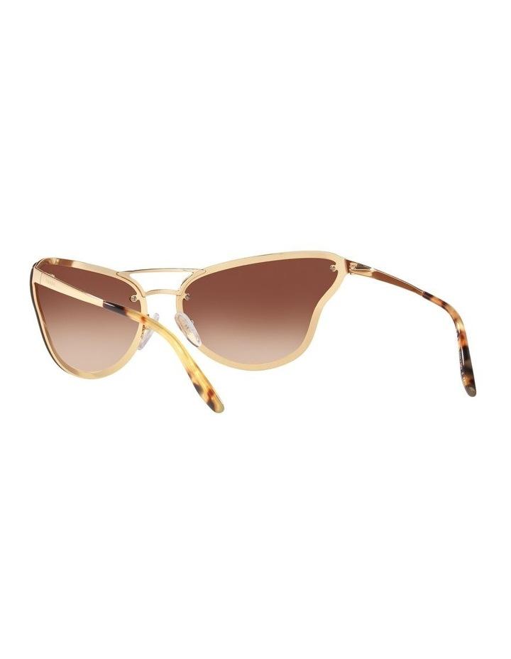 Brown Cat Eye Sunglasses 0PR 74VS 1525200001 image 6