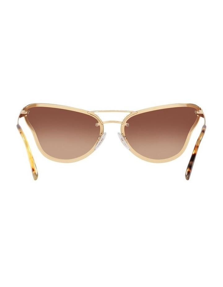 Brown Cat Eye Sunglasses 0PR 74VS 1525200001 image 7