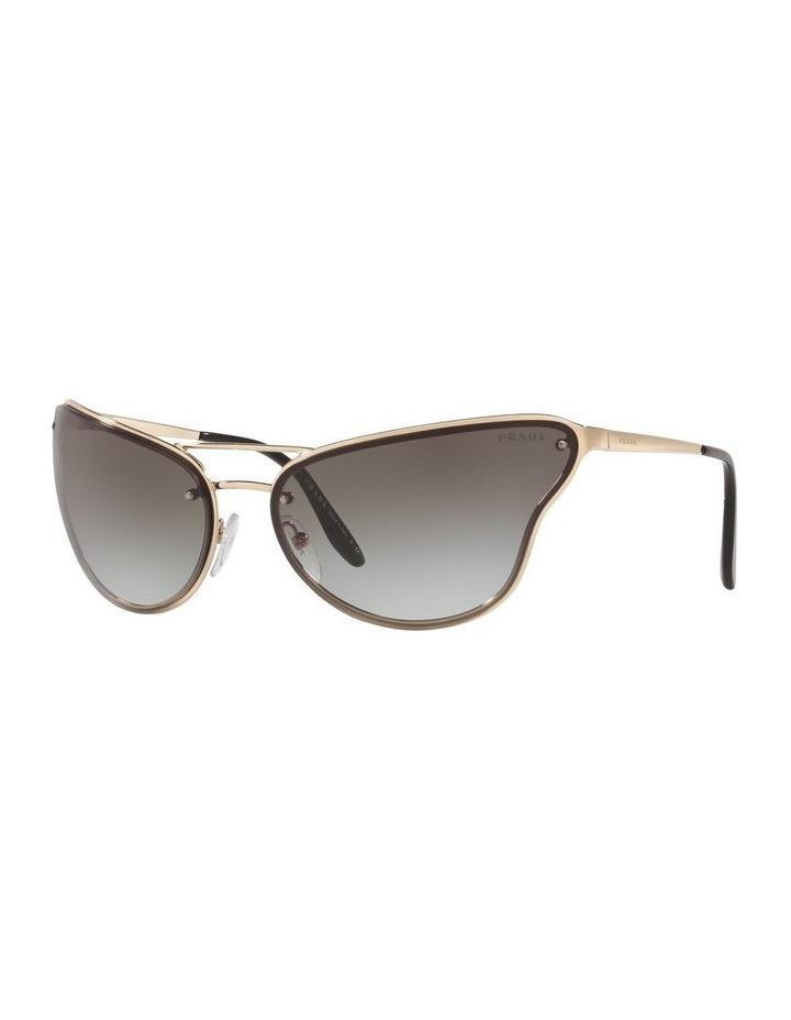 Grey Cat Eye Sunglasses 0PR 74VS 1525200002 image 1