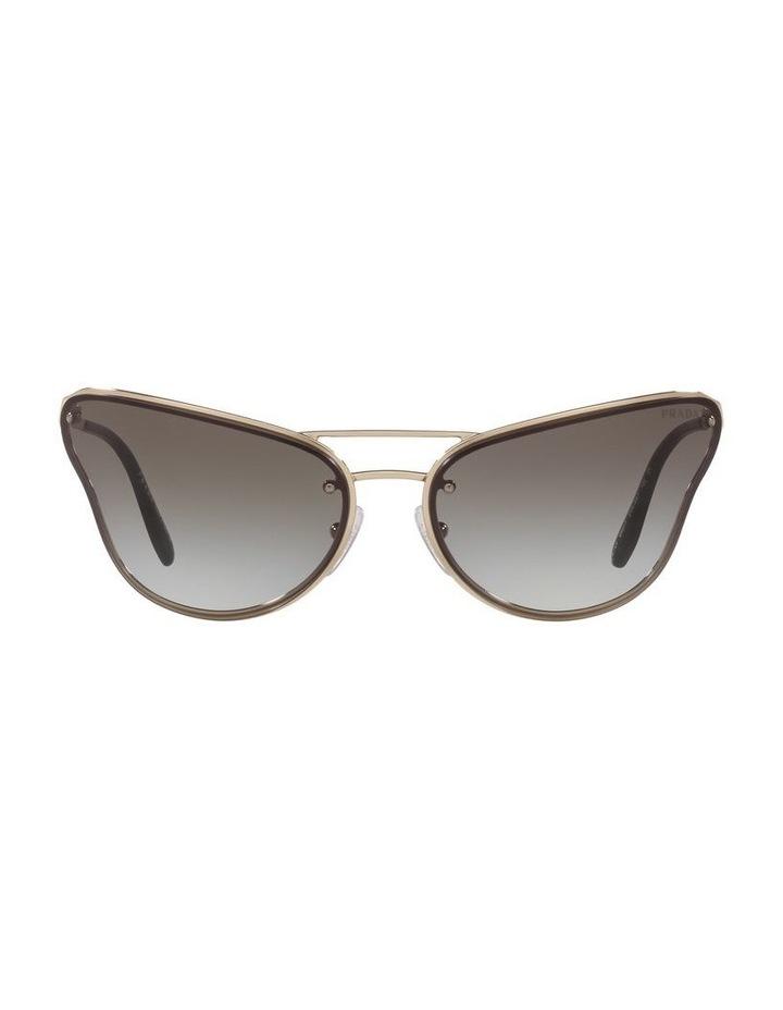 Grey Cat Eye Sunglasses 0PR 74VS 1525200002 image 2