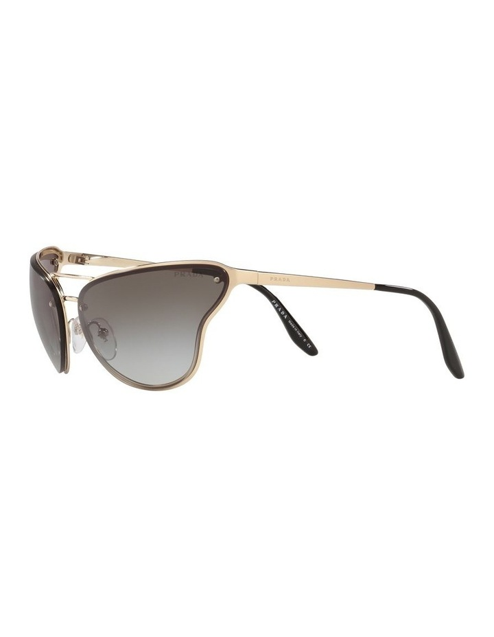 Grey Cat Eye Sunglasses 0PR 74VS 1525200002 image 3