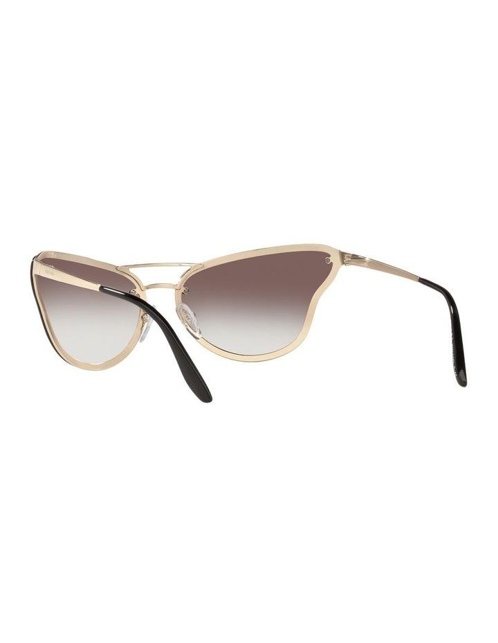 Grey Cat Eye Sunglasses 0PR 74VS 1525200002 image 6
