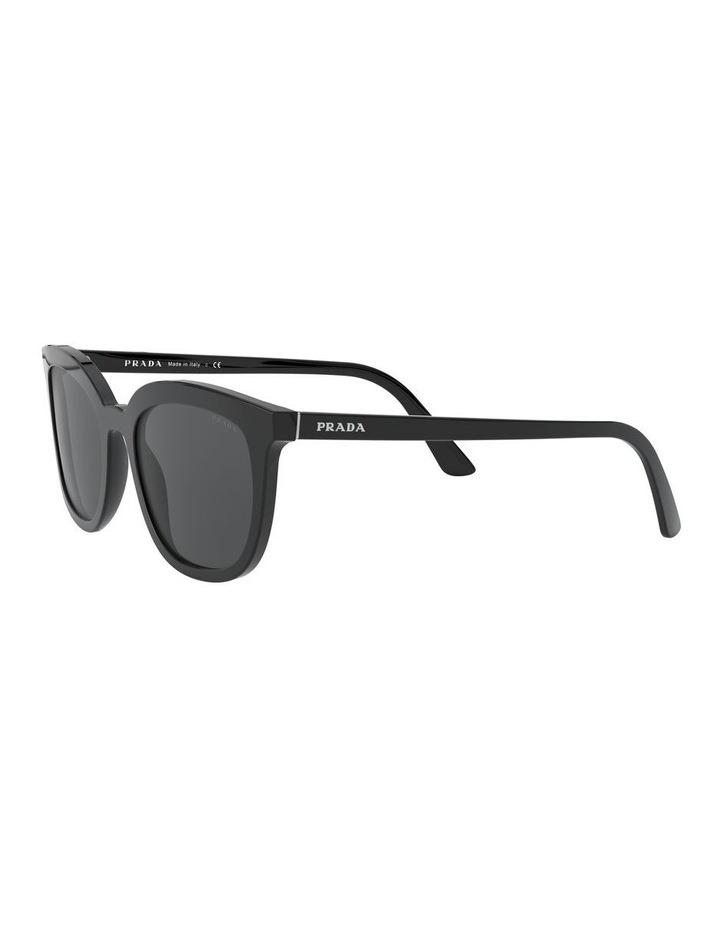 Grey Retro Sunglasses 0PR 03XS 1526550001 image 3