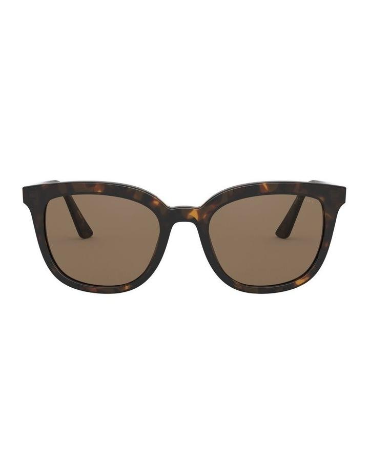 Brown Retro Sunglasses 0PR 03XS 1526550002 image 2