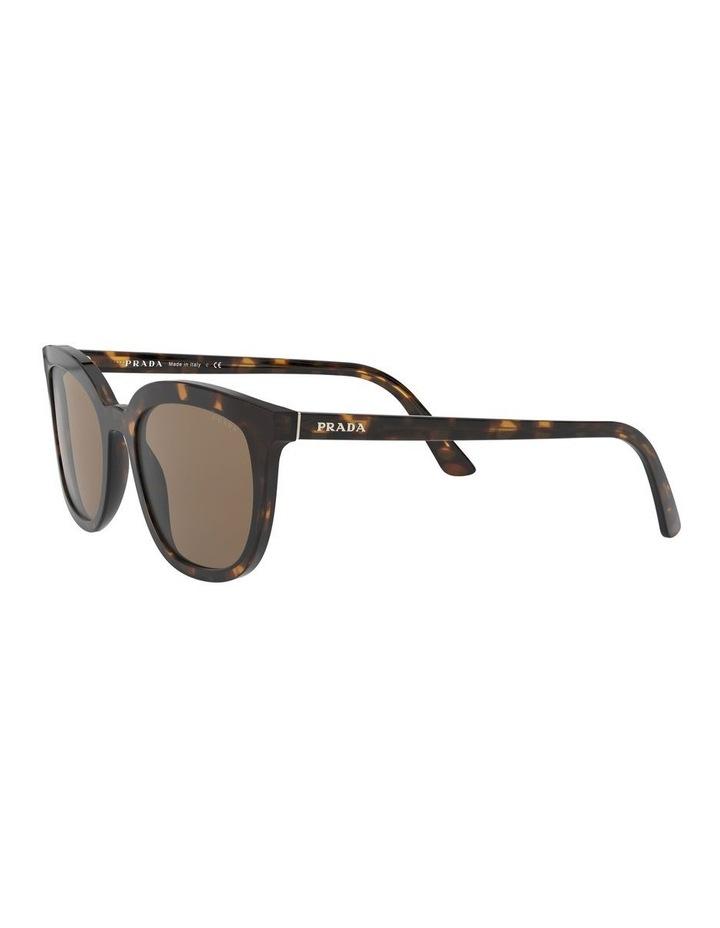 Brown Retro Sunglasses 0PR 03XS 1526550002 image 3