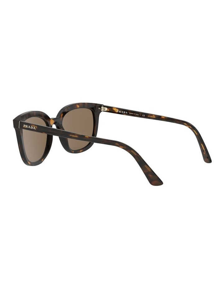 Brown Retro Sunglasses 0PR 03XS 1526550002 image 5