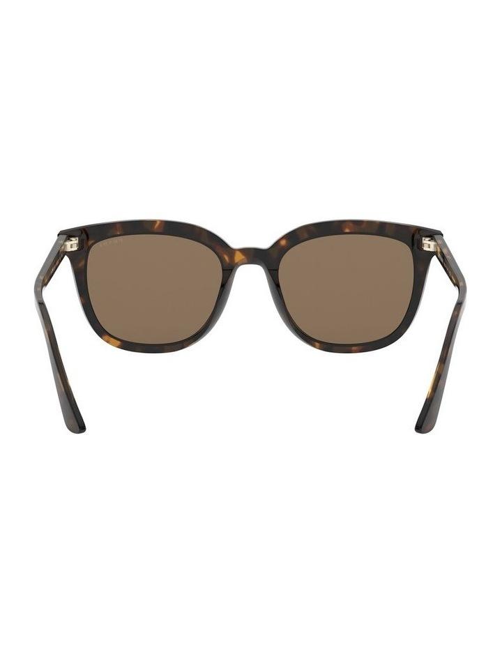 Brown Retro Sunglasses 0PR 03XS 1526550002 image 7