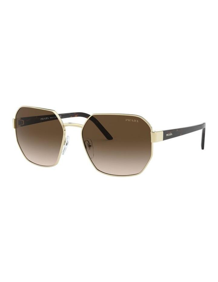Brown Hexagonal Sunglasses 0PR 54XS 1527867002 image 1