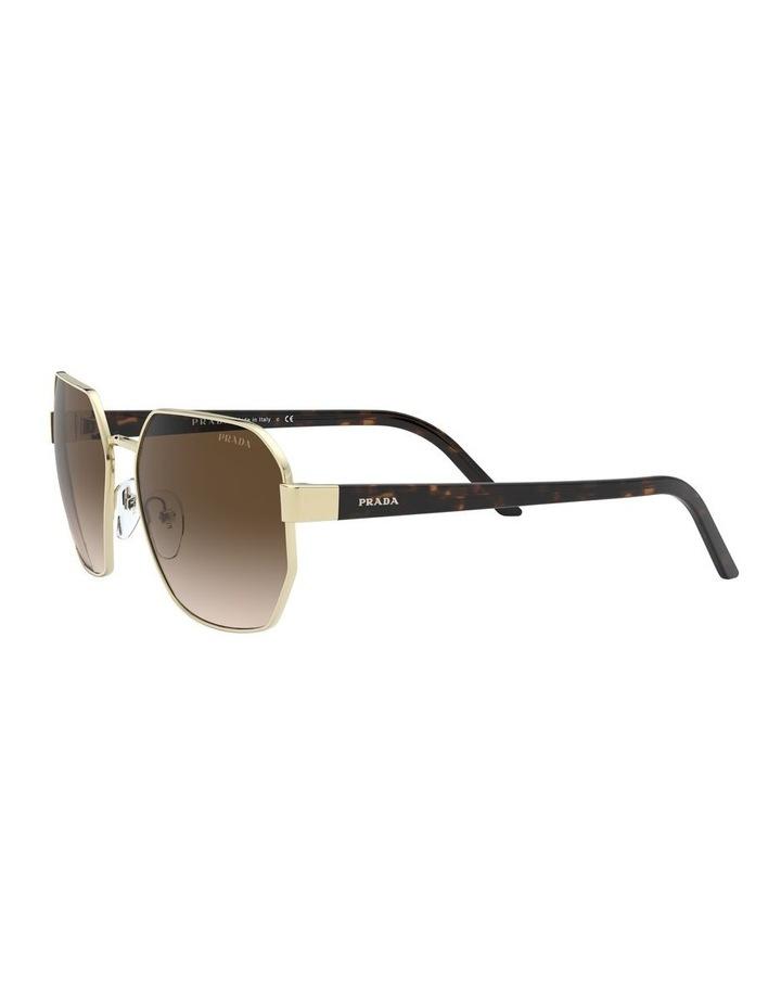 Brown Hexagonal Sunglasses 0PR 54XS 1527867002 image 3