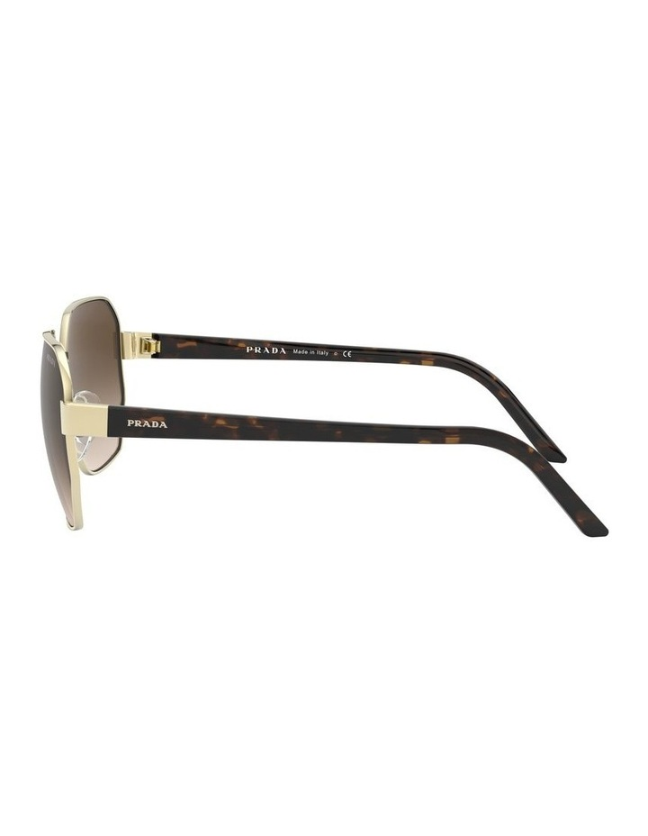 Brown Hexagonal Sunglasses 0PR 54XS 1527867002 image 4