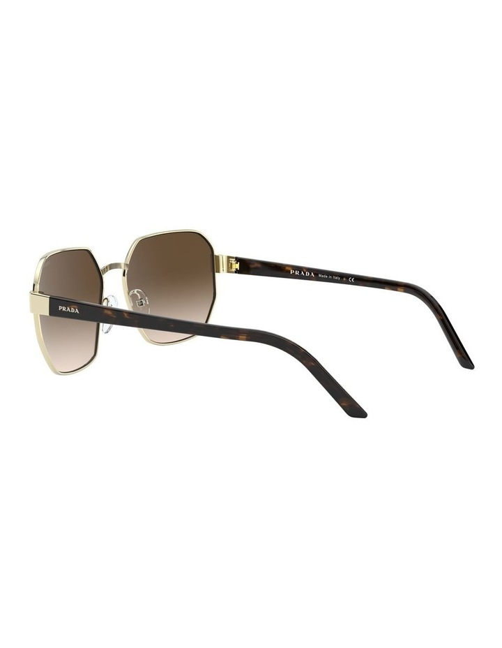 Brown Hexagonal Sunglasses 0PR 54XS 1527867002 image 5