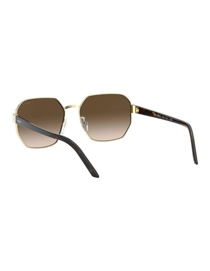 Brown Hexagonal Sunglasses 0PR 54XS 1527867002 image 6