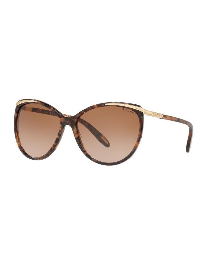 Brown Cat Eye Sunglasses 0RA5150 1099307007 image 1