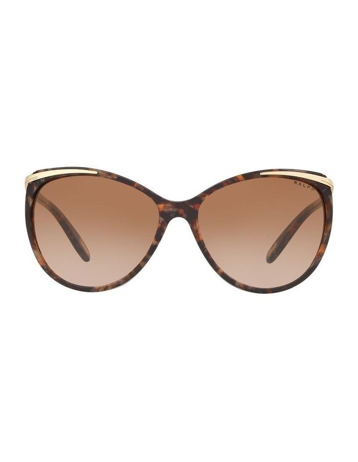 Brown Cat Eye Sunglasses 0RA5150 1099307007 image 2