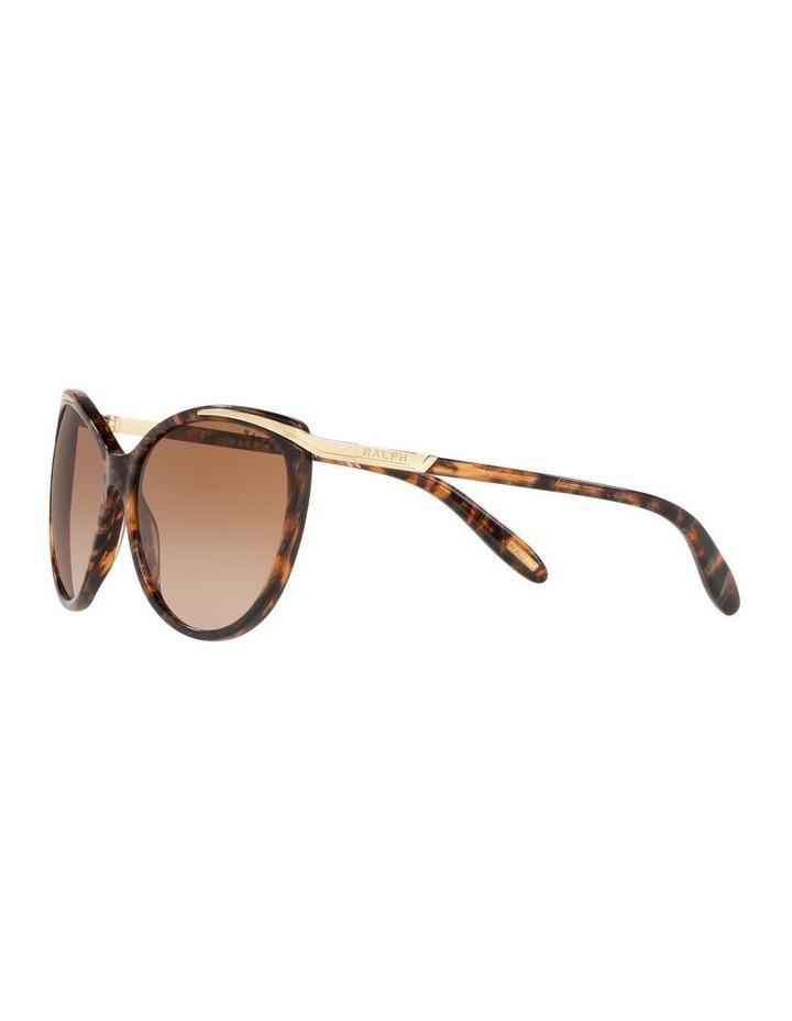 Brown Cat Eye Sunglasses 0RA5150 1099307007 image 3