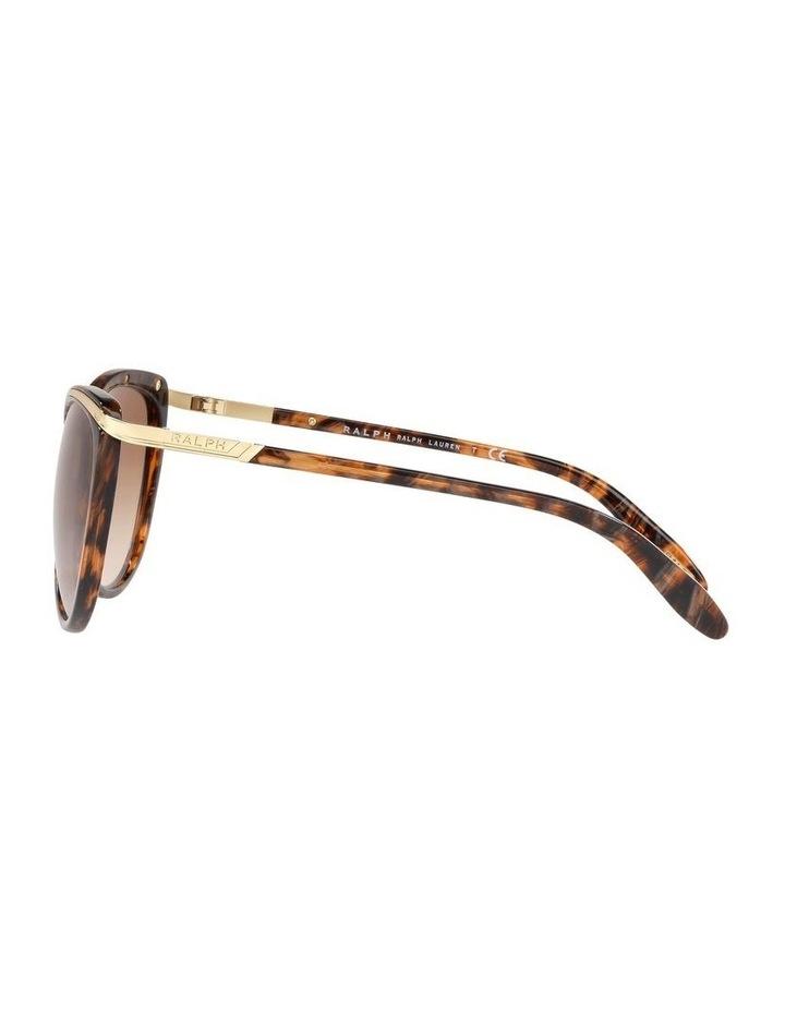 Brown Cat Eye Sunglasses 0RA5150 1099307007 image 4