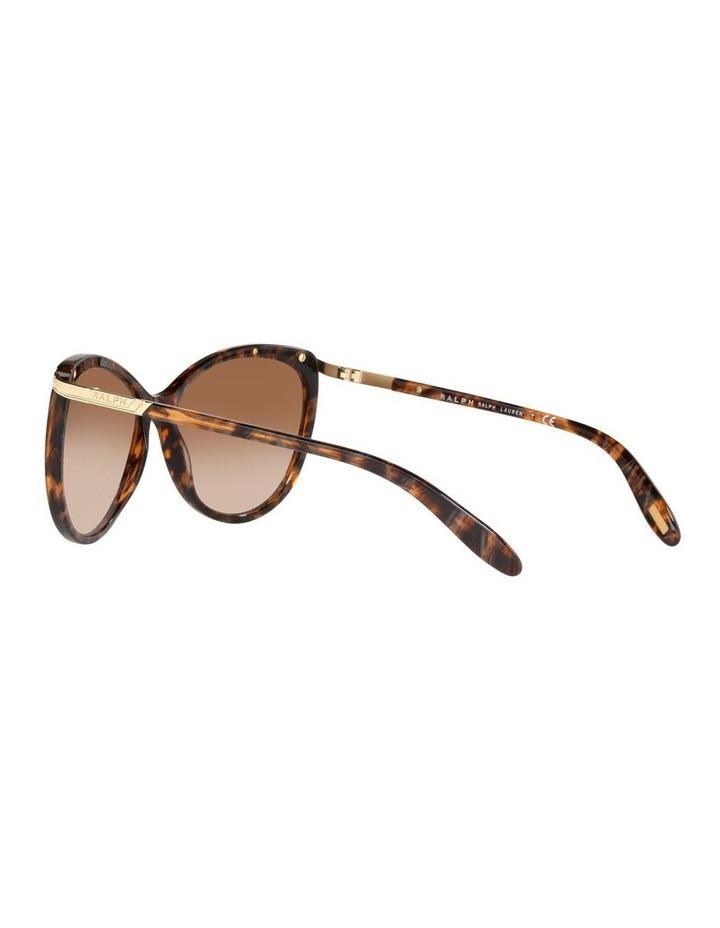 Brown Cat Eye Sunglasses 0RA5150 1099307007 image 5