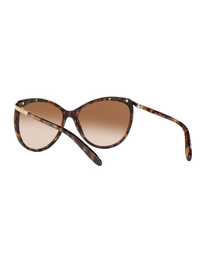 Brown Cat Eye Sunglasses 0RA5150 1099307007 image 6