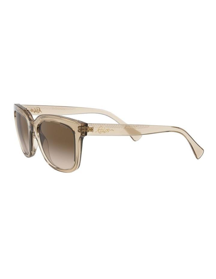 Brown Rectangle Sunglasses 0RA5261 1526368001 image 3