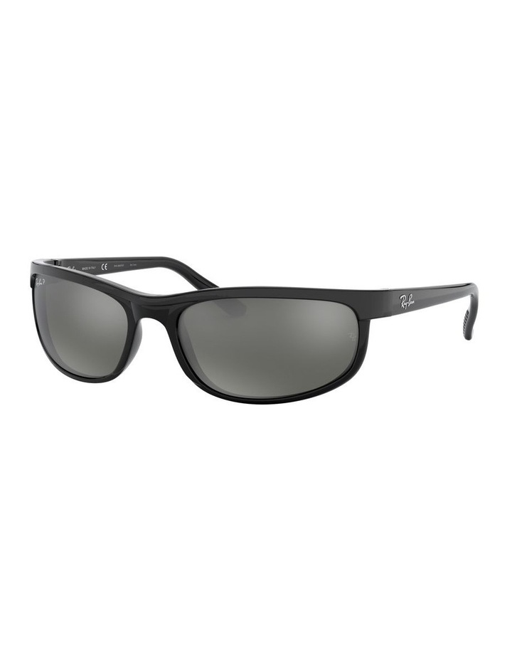 Predator 2 Polarised Grey Wraparound Sunglasses 0RB2027 1062701003 image 1