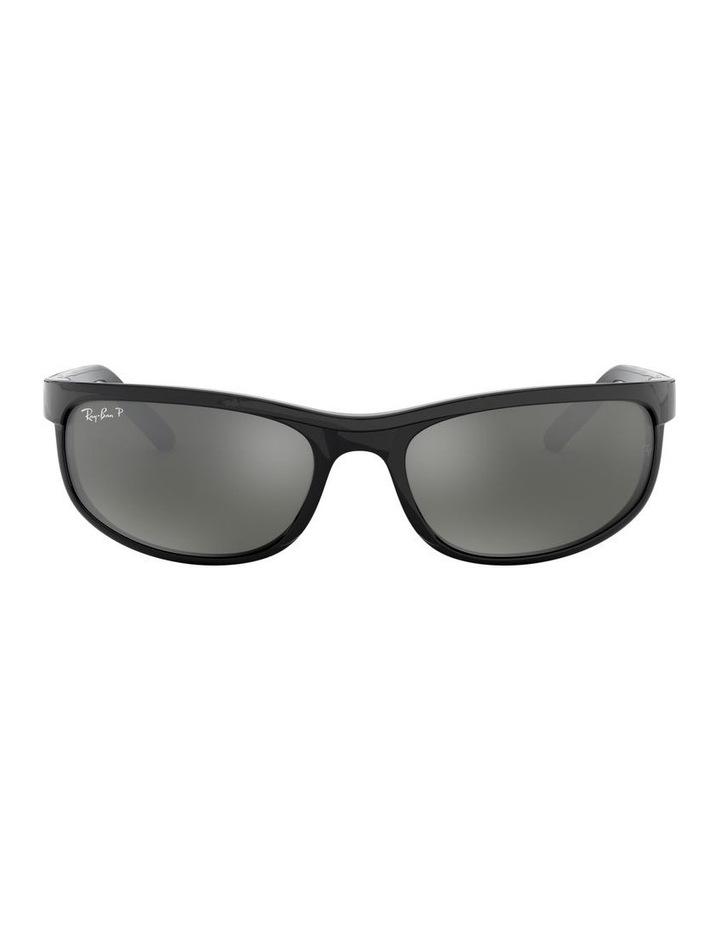 Predator 2 Polarised Grey Wraparound Sunglasses 0RB2027 1062701003 image 2