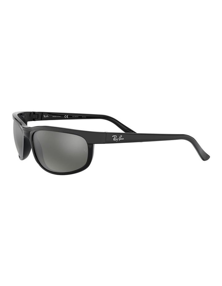 Predator 2 Polarised Grey Wraparound Sunglasses 0RB2027 1062701003 image 3