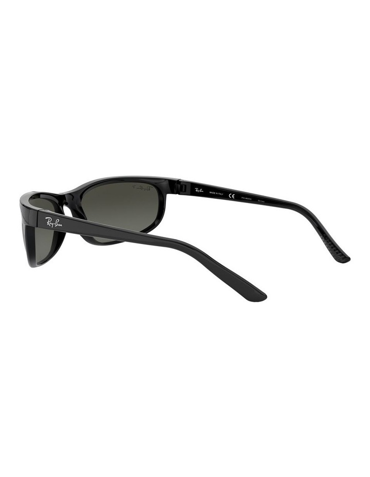 Predator 2 Polarised Grey Wraparound Sunglasses 0RB2027 1062701003 image 5