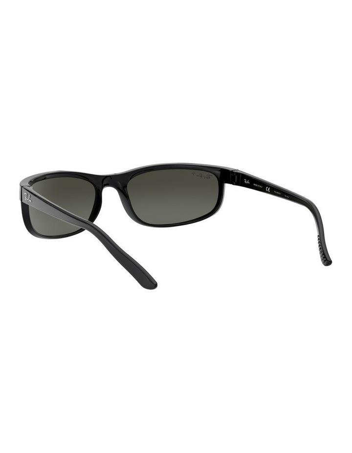 Predator 2 Polarised Grey Wraparound Sunglasses 0RB2027 1062701003 image 6