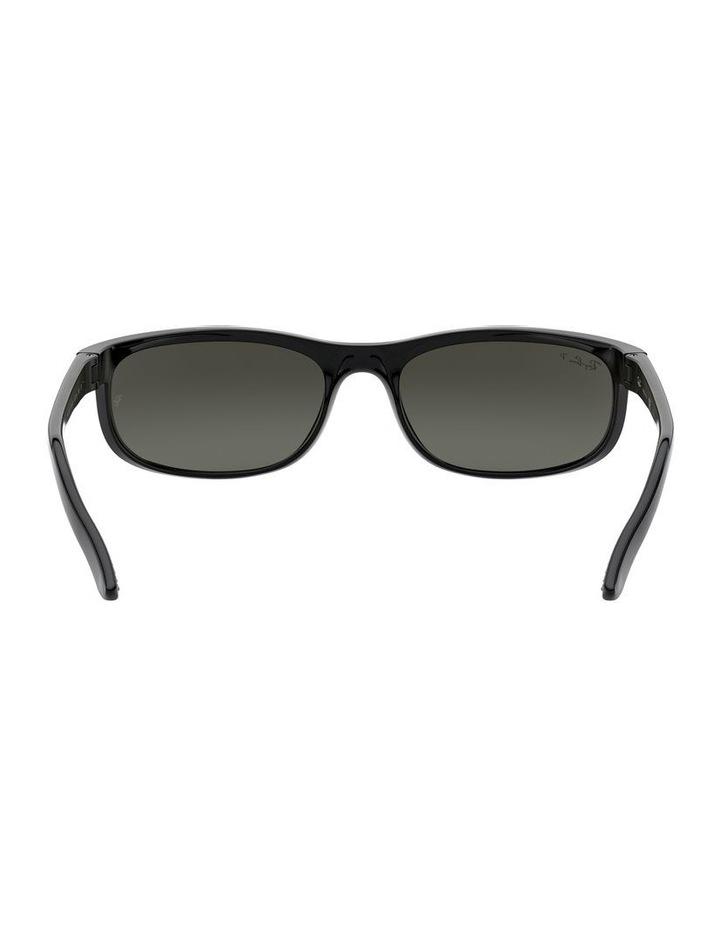 Predator 2 Polarised Grey Wraparound Sunglasses 0RB2027 1062701003 image 7