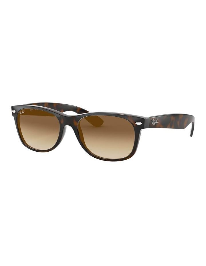 New Wayfarer Brown Sunglasses 0RB2132 1062725017 image 1